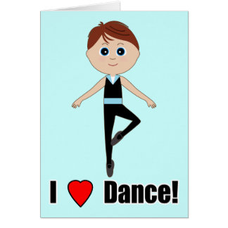 Boy Dancer:Thank You for Coming to See Me Dance Card