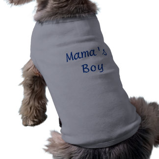 Boy de mamá ropa de mascota