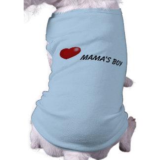 Boy de mamá ropa de perros