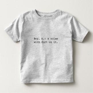 Boy Definition Toddler T-shirt