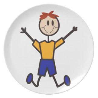 Boy Dinner Plate