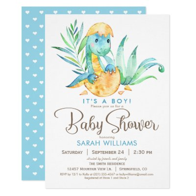 photo about Free Printable Dinosaur Baby Shower Invitations named Boy or girl Dinosaur Child Shower Invitation