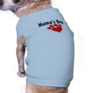 Boy Dog Shirt de mamá Ropa Para Mascota