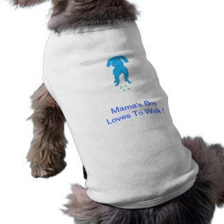 Boy Doggie Shirt Ears de mamá abajo Camisetas De Perrito