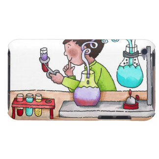 Boy Doing Science Experiment Case-Mate iPod Touch Case