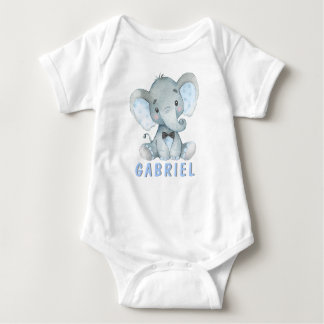 Boy Elephant Baby Shirts