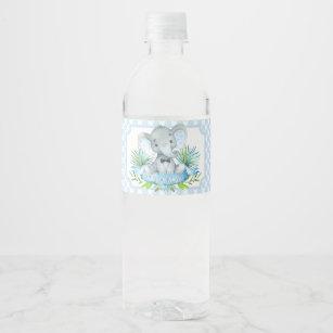 Baby Shower Water Bottle Labels Zazzle