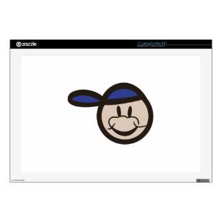 """Boy Face 17"""" Laptop Skins"""