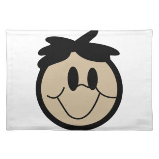Boy Face Cloth Placemat