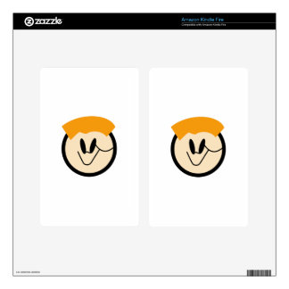 Boy Face Decal For Kindle Fire