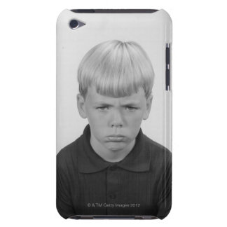 Boy Facial Expressions Barely There iPod Cover