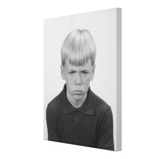 Boy Facial Expressions Canvas Prints
