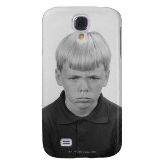 Boy Facial Expressions Galaxy S4 Case