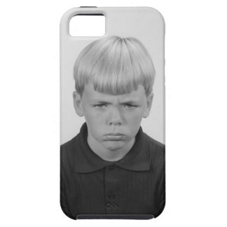 Boy Facial Expressions iPhone SE/5/5s Case