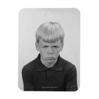 Boy Facial Expressions Magnet