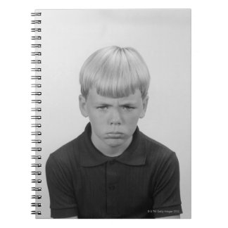 Boy Facial Expressions Notebook