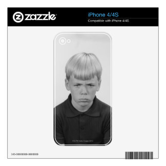 Boy Facial Expressions iPhone 4S Skin