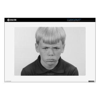 Boy Facial Expressions Laptop Skin