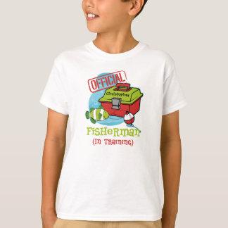 Boy Fisherman In Training T-Shirt