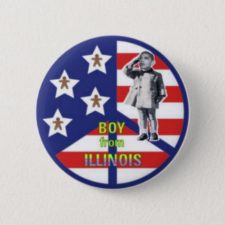 Boy from Illinois Button