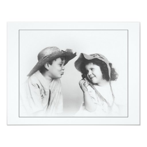 Boy & Girl Card