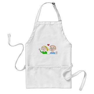 boy girl heart kaitlin adult apron