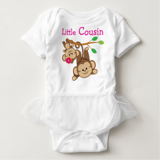 Boy, Girl Monkeys Little Cousin Baby Bodysuit