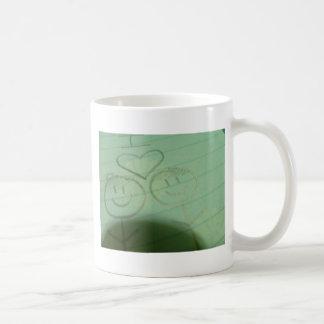 Boy+Girl Classic White Coffee Mug