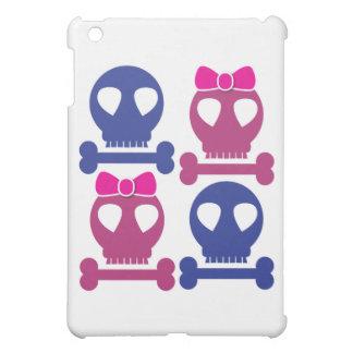 BOY GIRL skulls Rockabilly design iPad Mini Covers