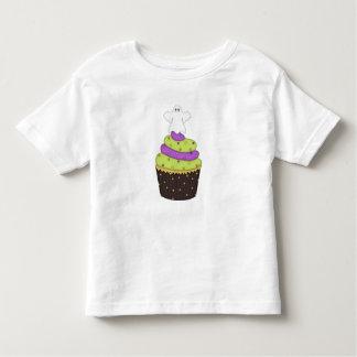 Boy ~ Girl Toddler Ghost Cupcake Halloween Shirt
