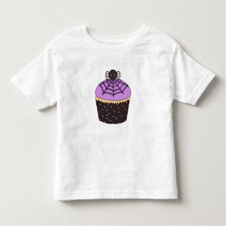 Boy ~ Girl Toddler Halloween Spider Cupcake Shirt