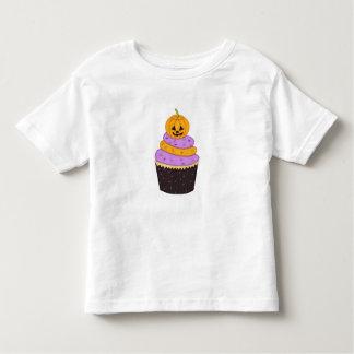 Boy ~ Girl Toddler Pumpkin Cupcake Halloween Shirt