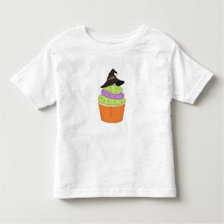 Boy ~ Girl Toddler Witch Cupcake Halloween Shirt