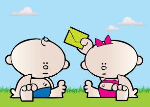 Girl twins birthday cards zazzle boy girl twin birthday greeting card m4hsunfo