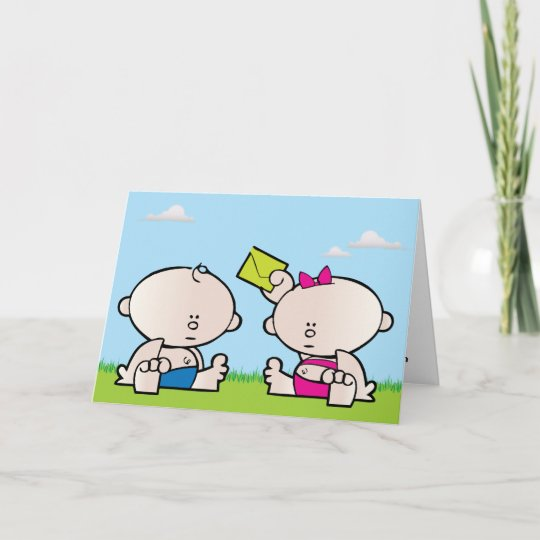 Birthday Cards For Twins Boy And Girl Driveeapusedmotorhomefo