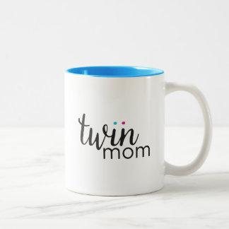 Boy Girl Twin Mom Mug