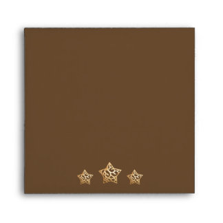 Boy & Girl Twins Christmas Baby Shower Envelopes