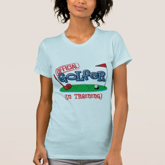 Boy Golfer In Training T-Shirt