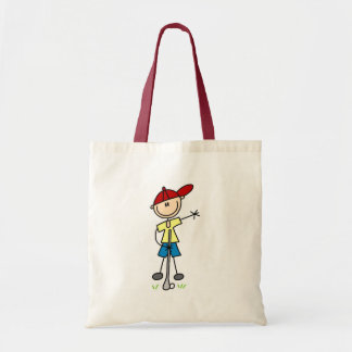 Boy Golfer Tshirts and Gifts Tote Bag