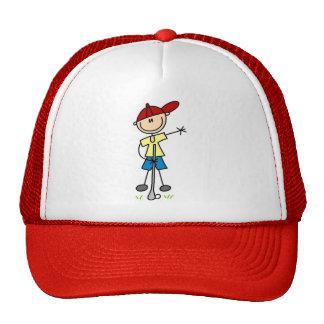 Boy Golfer Tshirts and Gifts Trucker Hat