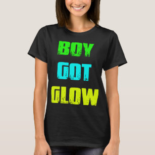Boy Got Glow Party Shirt Neon 80s Birthday