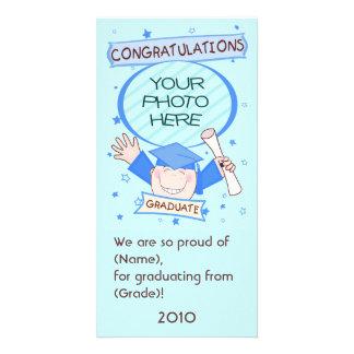 Boy Graduate Kindergarten / Preschool Photo Card