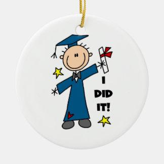 Boy Graduate Ornaments