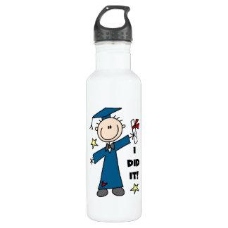 Boy Graduate 24oz Water Bottle