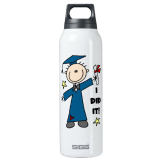 Boy Graduate SIGG Thermo 0.5L Insulated Bottle