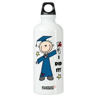 Boy Graduate SIGG Traveler 0.6L Water Bottle