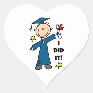 Boy Graduate Sticker