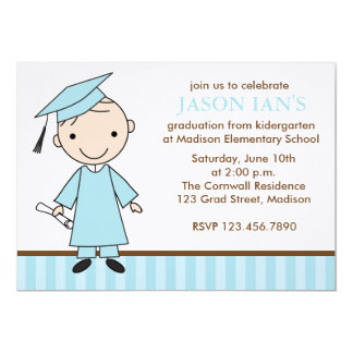 Boy Graduation Party Invitations