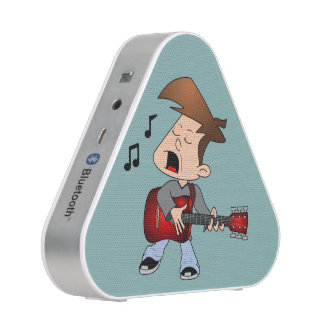Boy Guitar Player Bluetooth Speaker