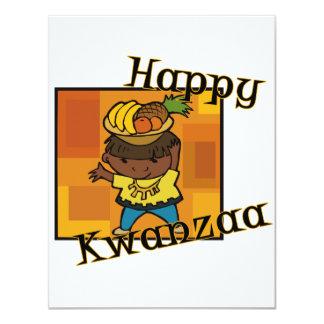 Boy Happy Kwanzaa Card